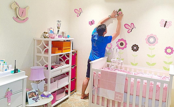 Trang trí phòng sinh nhật bé gái như thế nào 1