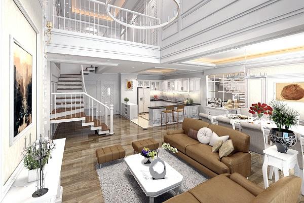 Thiết kế nội thất cho dự án nhà ở, biệt thự hoàn hảo1